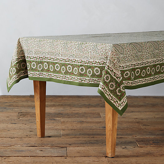 View larger image of Paisley Fern Tablecloth