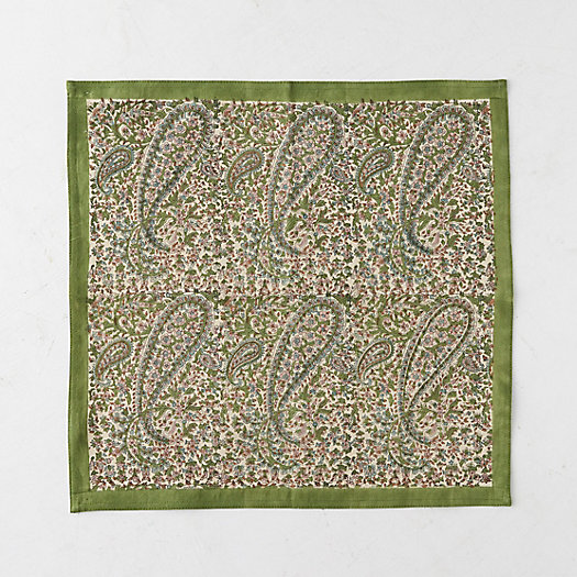 View larger image of Paisley Fern Napkin