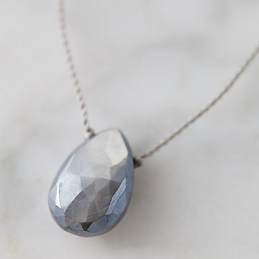 View larger image of Moonstone Droplet Necklace