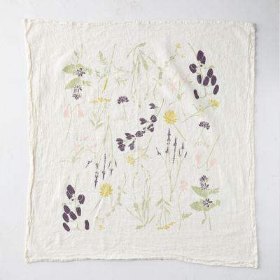 Eastern Wild Flower Tea Towel