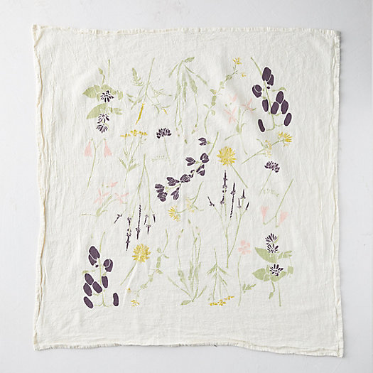 View larger image of Eastern Wild Flower Tea Towel