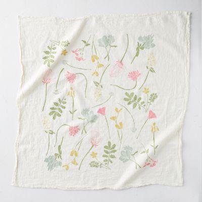 Western Wild Flower Tea Towel