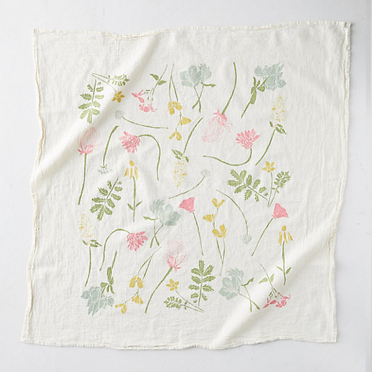 View larger image of Western Wild Flower Tea Towel