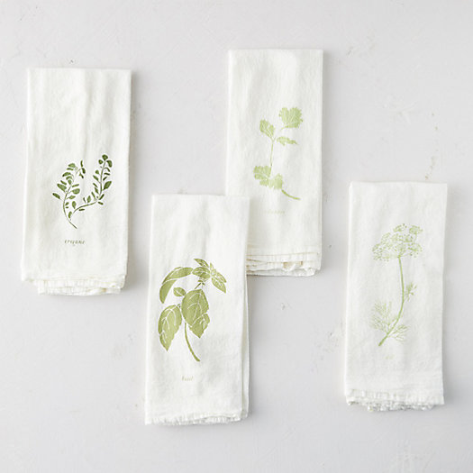 View larger image of Garden Flavors Napkins, Set of 4