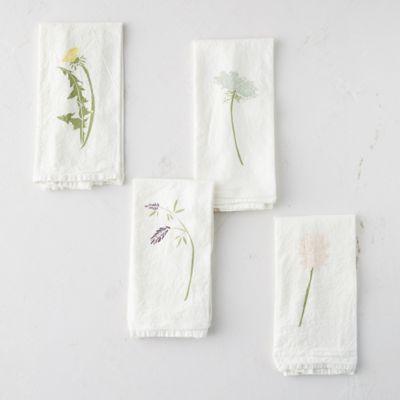 Wild Flower Napkins, Set of 4