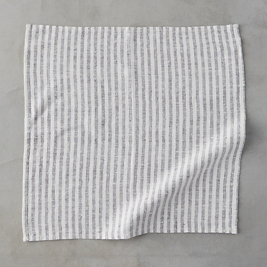 View larger image of Lithuanian Linen Napkin, Stripe