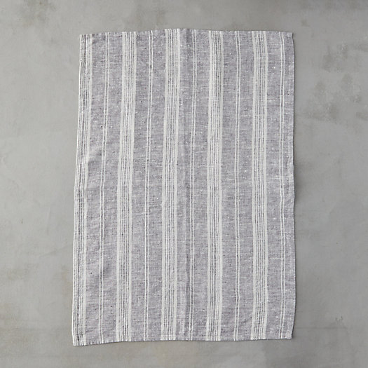 View larger image of Lithuanian Tea Towel, Multi Stripe