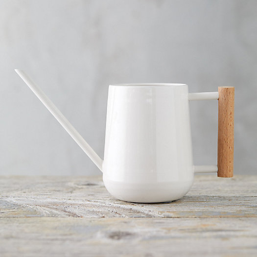 View larger image of Beech Wood Handle Watering Can