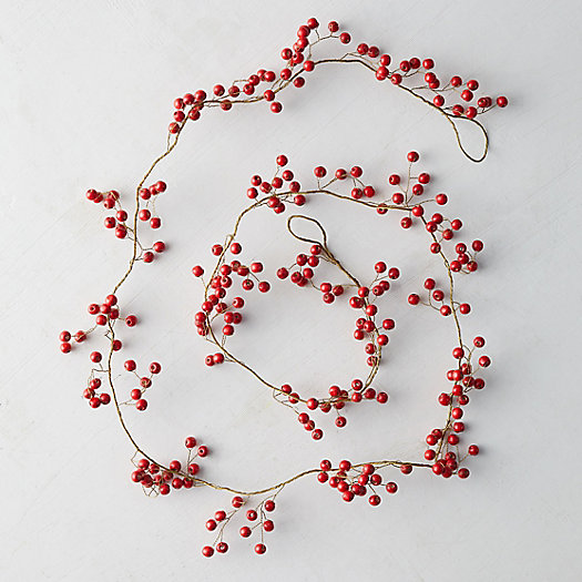 View larger image of Red Berry Garland