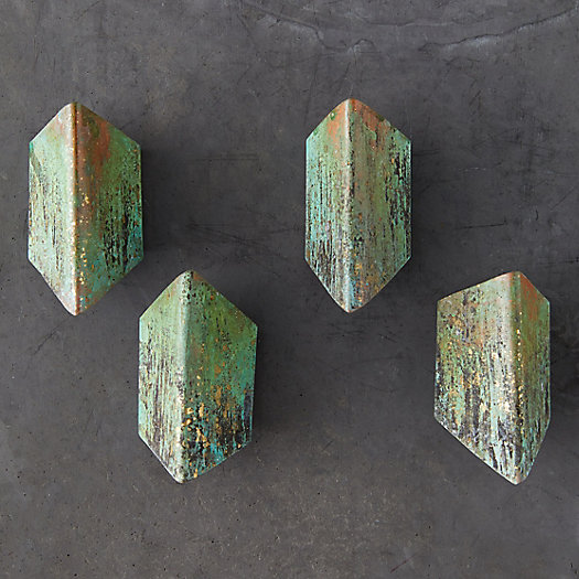 View larger image of Oxidized Copper + Brass Napkin Rings, Set of 4