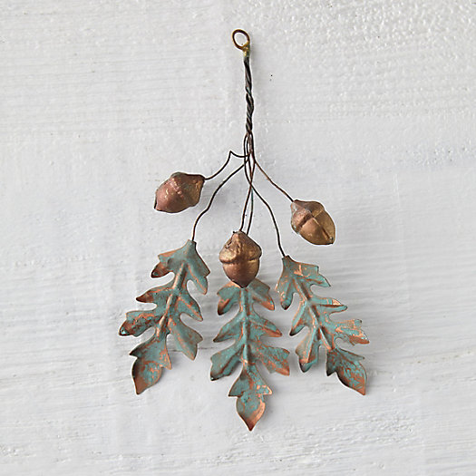 View larger image of Iron Oak Leaves + Acorn Bundle