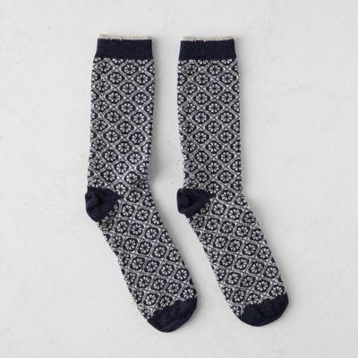 Women's Geometric Floral Socks