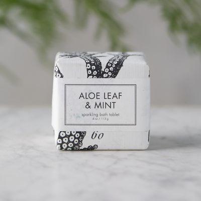 Aloe + Mint Bath Tablet