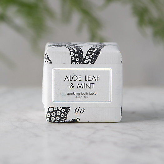 View larger image of Aloe + Mint Bath Tablet