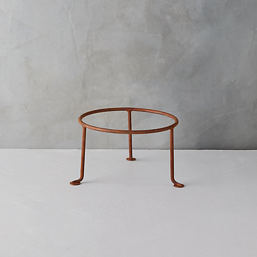 """View larger image of Iron Plant Stand, 10"""""""