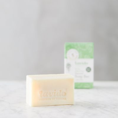 Lavido Natural Soap Bar, Tea Tree + Black Cumin Seed