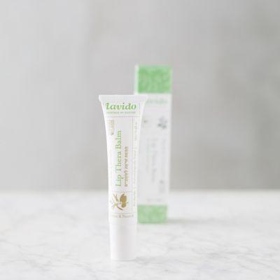 Lavido Therapeutic Lip Balm, Shea Butter