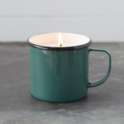 Hot Cider Candle, Enamel Mug