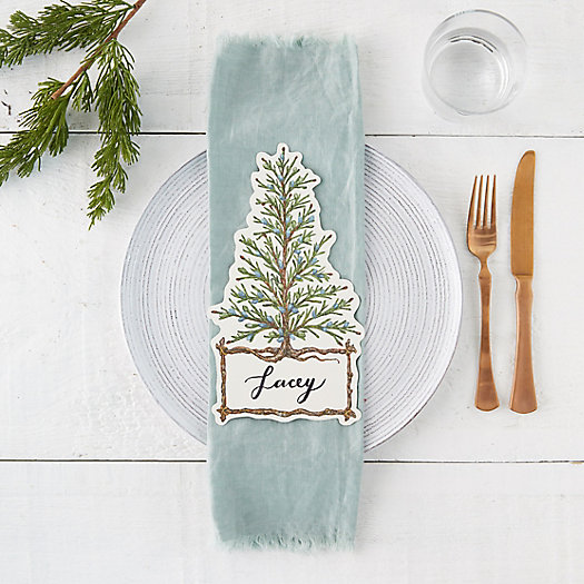View larger image of Cedar Tree Place Cards, Set of 12