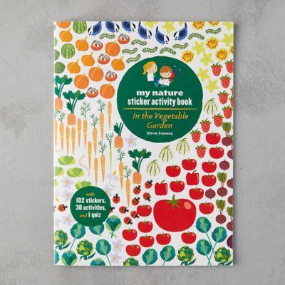 In the Vegetable Garden Sticker Book
