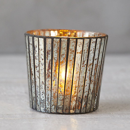 View larger image of Mercury Paned Votive Holder