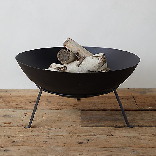 View larger image of Simple Steel Bowl Fire Pit