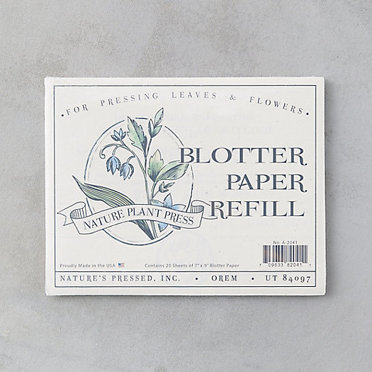 View larger image of Birch Plant Press Blotting Paper Refill