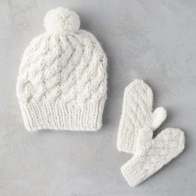 Baby Hat + Mitten Set