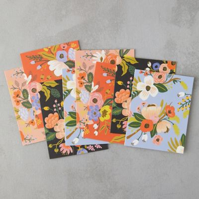 Floral Greeting Cards, Set of 8