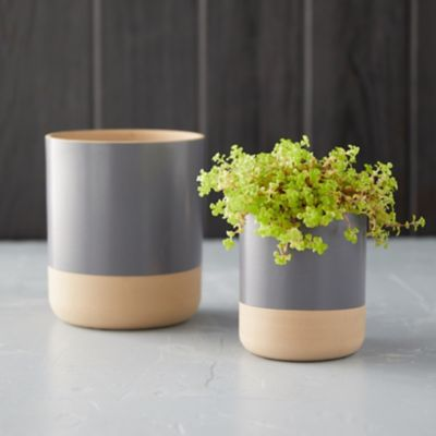 Matte Colorblock Pot