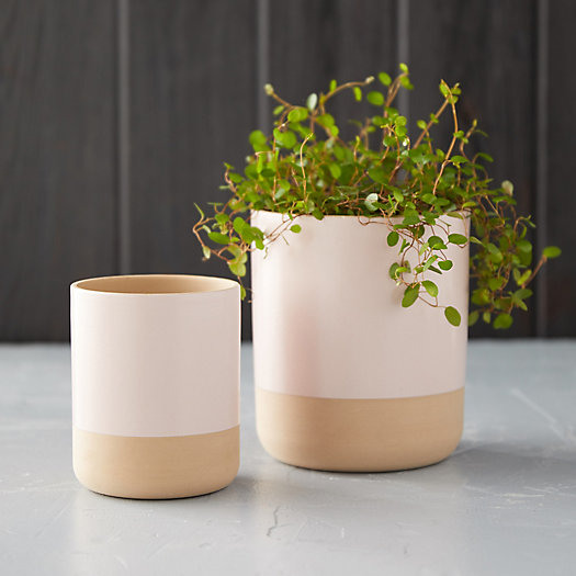 View larger image of Matte Colorblock Pot