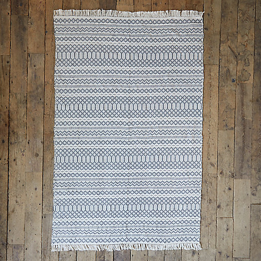 View larger image of Fringed Geometric Outdoor Rug