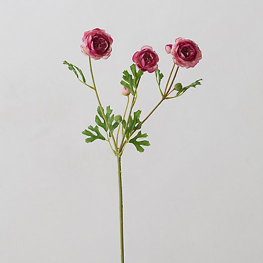 View larger image of Faux Ranunculus Spray