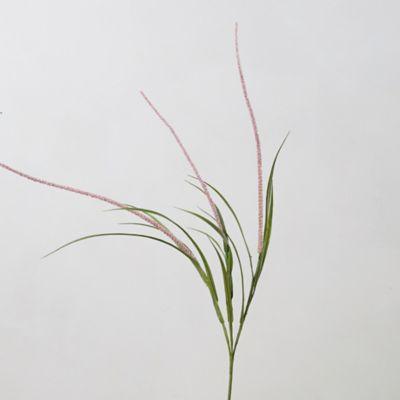 Faux Pink Grass Spray