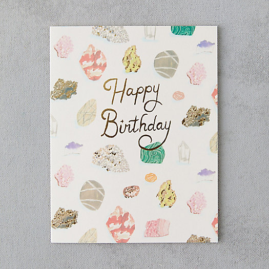 View larger image of Crystal Cluster Birthday Card