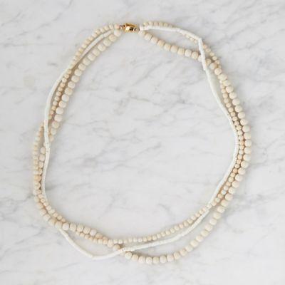 Riverstone Wrap Necklace
