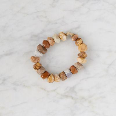 Jasper + Riverstone Bracelet