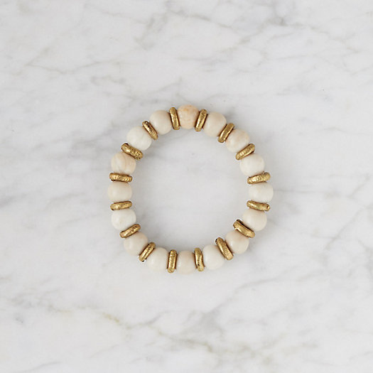 View larger image of Riverstone + Brass Bracelet