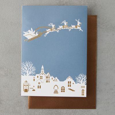 Midnight Santa Pop-Up Card