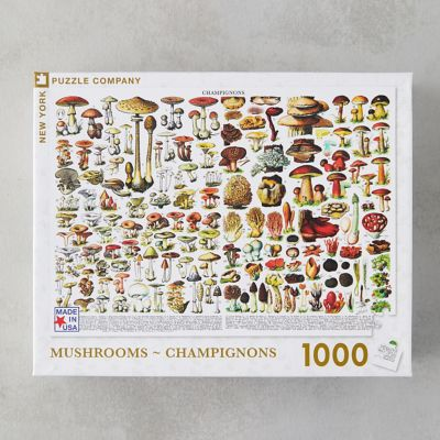 Mushroom Field Guide Puzzle