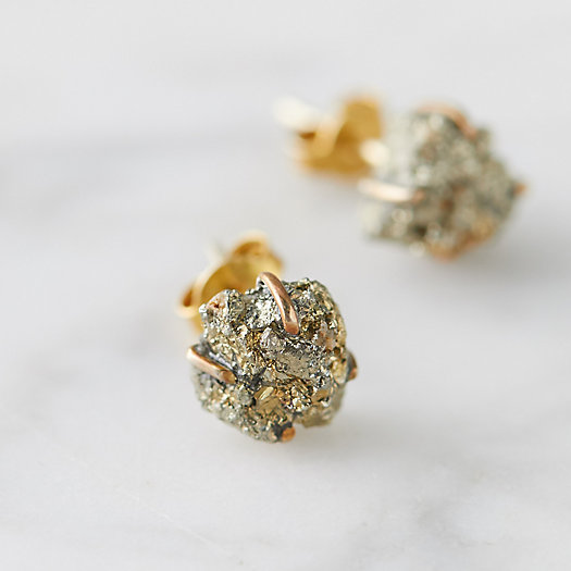 View larger image of Pyrite Stud Earrings