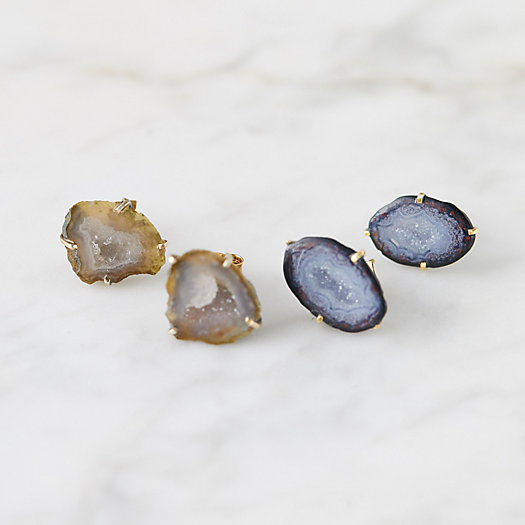 View larger image of Druzy Stud Earrings