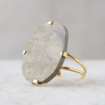 Pyrite Gemstone Cuff