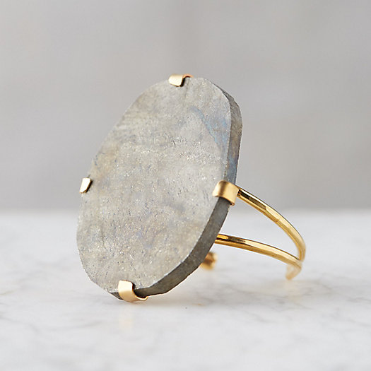 View larger image of Pyrite Gemstone Cuff