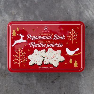 Peppermint Bark Snowflakes, 12 Pieces
