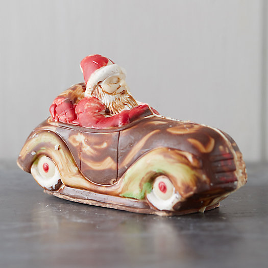 View larger image of Chocolate Santa in a Car