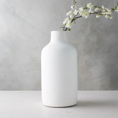 Matte Terracotta Vase, Wide Mouth