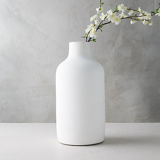View larger image of Matte Terracotta Vase, Wide Mouth