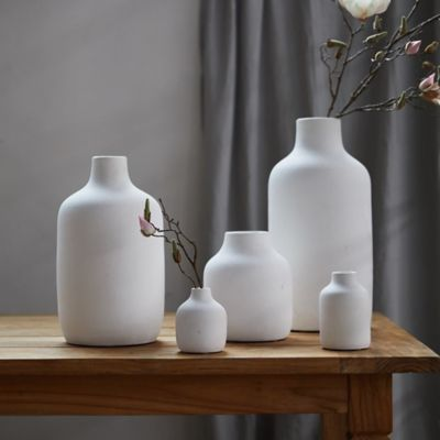 Matte Terracotta Vase, Wide Mouth