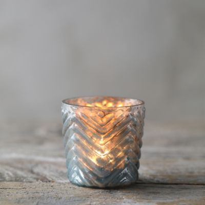 Chevron Tea Light Holder